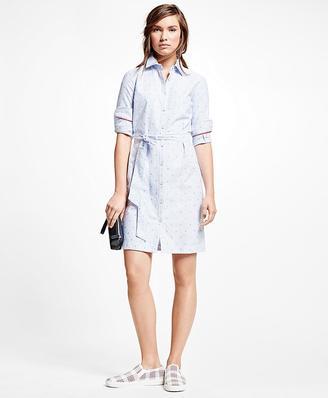 Cotton Shirt Dress $118 thestylecure.com