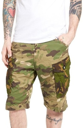 Men's G-Star Raw Rovic Loose Ao Camo Cargo Shorts $130 thestylecure.com