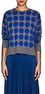 Lisa Perry Women's Dot-Pattern Cashmere Sweater