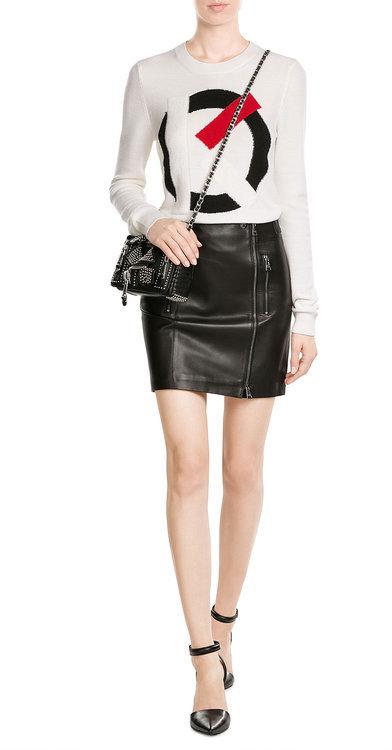 MoschinoMoschino Mini Leather Shoulder Bag