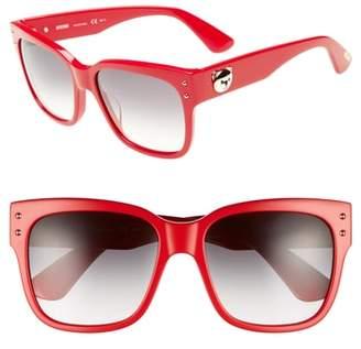 Moschino 56mm Gradient Lens Sunglasses