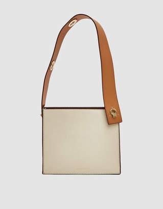 Danse Lente Zoe Box Bag in Marshmallow/Toffee