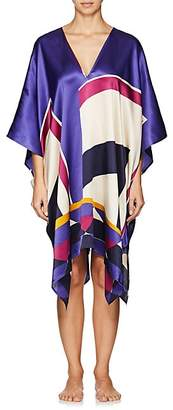 Eres WOMEN'S ARTWORK POP ART SILK CAFTAN - 00713-MULTICOLORE ADDICT