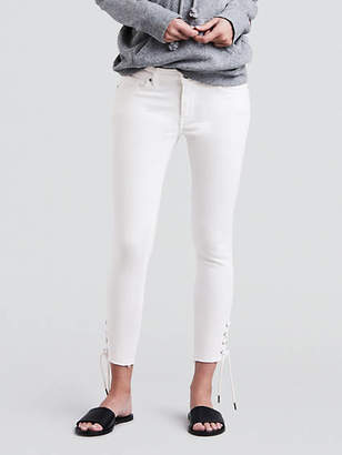 Levi's 711 Skinny Lace Up Jeans