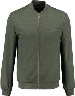 0aa561a83 Mens Villain Green Bomber Jacket
