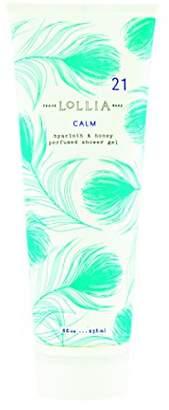 Lollia (ロリア) - ロリア(LoLLIA) パフュームドシャワージェル Calm 236ml(全身用洗浄料 ボディーソープ アイリス、シトラス、ヒヤシンスのクリーン&フレッシュな香り)