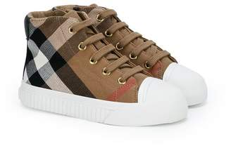 Burberry Belford hi-top sneakers