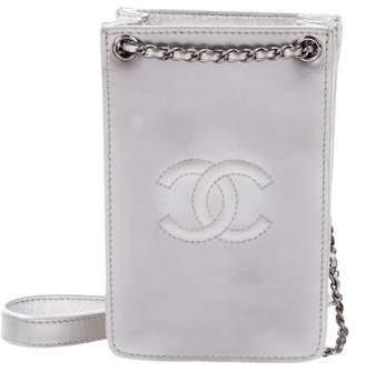 Chanel Patent Crossbody Phone Holder