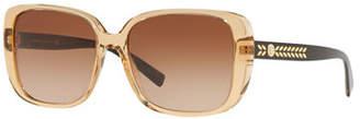 Versace Square Acetate Sunglasses