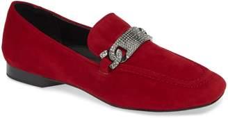 Donald J Pliner Halen Rhinestone Embellished Loafer