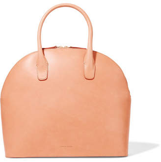 Mansur Gavriel Leather Tote - Camel