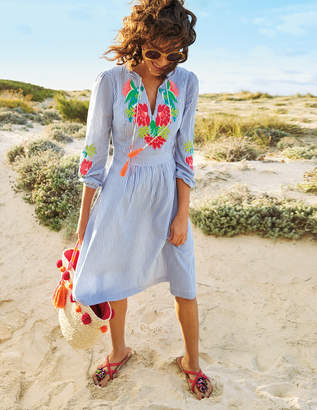 Boden Marla Embroidered Dress