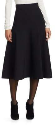 Akris Punto Milano Flared Midi Skirt