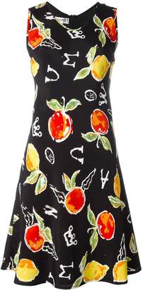 JC de CASTELBAJAC Pre-Owned apple print dress