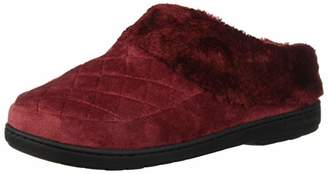 Dearfoams Women's Velour Clog Slipper