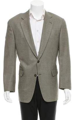 Burberry Silk-Blend Two-Button Blazer