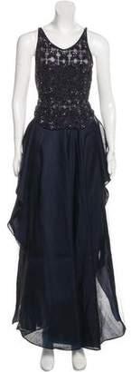 Giorgio Armani Embellished Maxi Skirt Set