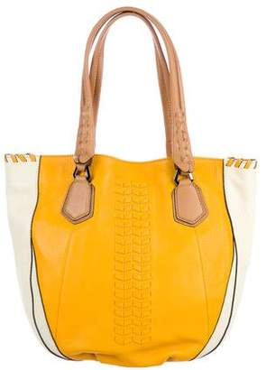 Oryany Lyssie Bicolor Leather Tote