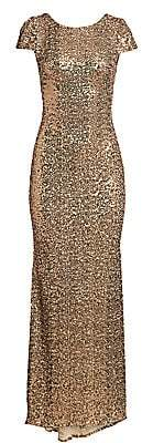 Badgley Mischka Women's Sequin Gown