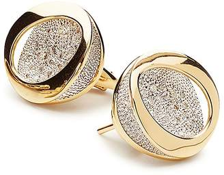 Antonini 18K Yellow Gold Atolli Diamond Stud Earrings