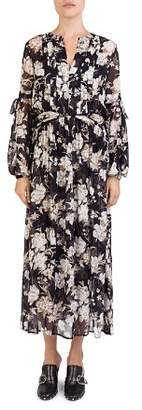 The Kooples French Baroque Floral-Print Maxi Dress
