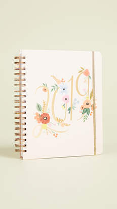 Rifle Paper Co. 2019 Bouquet Spiral 17 Month Planner