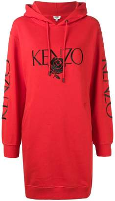 Kenzo logo hoodie dress
