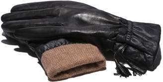 Moda Women's Ms. Dublin Genuine Leather Fully Lined Winter Gloves
