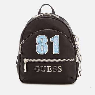 GUESS Women's Manhattan Small Backpack - Black