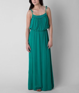 Fire Crinkle Maxi Dress $42.95 thestylecure.com