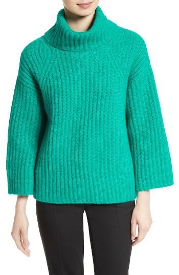 Kate SpadeWomen's Kate Spade New York Bow Back Alpaca Blend Turtleneck Sweater