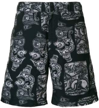 Saturdays NYC printed swim shorts