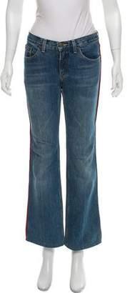 Marc Jacobs Mid-Rise Side Stripe Jeans