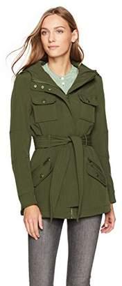 Steve Madden Women's Military Softshell Anorak