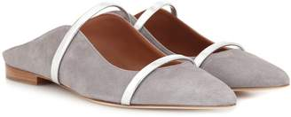 Malone Souliers Maureen suede slippers