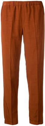 Alberto Biani elastic waist trousers