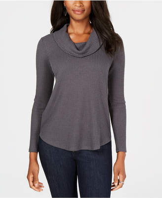 Style&Co. Style & Co Cowl-Neck Thermal, Created for Macy's
