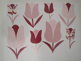 Pem America Beansprout Talullah Stick Ups, Pink/Maroon