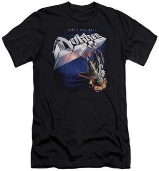 Dokken Tooth And Nail Mens Premium Slim Fit Shirt