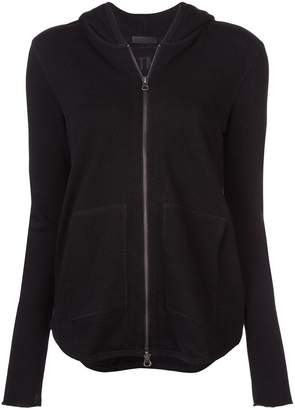 ATM Anthony Thomas Melillo hooded zipped cardigan