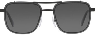Prada aviator frame sunglasses