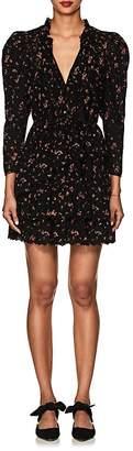 Ulla Johnson Women's Josette Floral Cotton Eyelet Dress