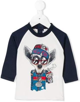 Little Marc Jacobs graphic print top