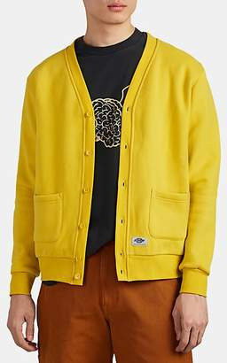 Dickies CONSTRUCT Men's Logo Cotton Fleece Cardigan - Yellow