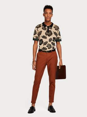 Scotch & Soda Botanical Mix Polo