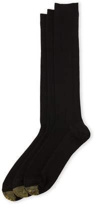 Gold Toe 3-Pack Premier Metropolitan Over-The-Calf Socks