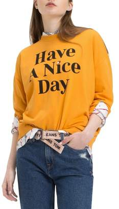 Tommy Jeans TJW Have A Nice Day Sweatshirt