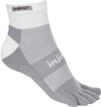 Coolmax Injinji Run Midweight Mini-Crew Sock