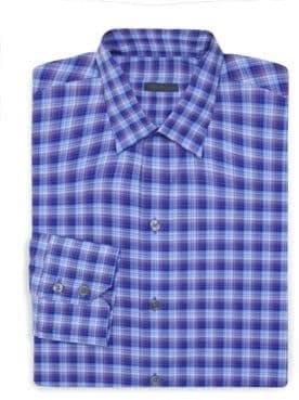 Zachary Prell Plaid Dress Shirt