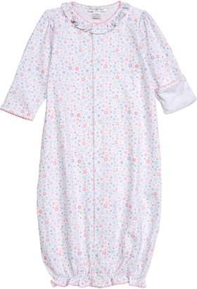 Kissy Kissy Print Convertible Gown